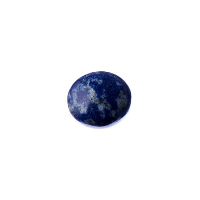 Cabochon in Lapislazzuli - Tondo 1.4x0.5 cm