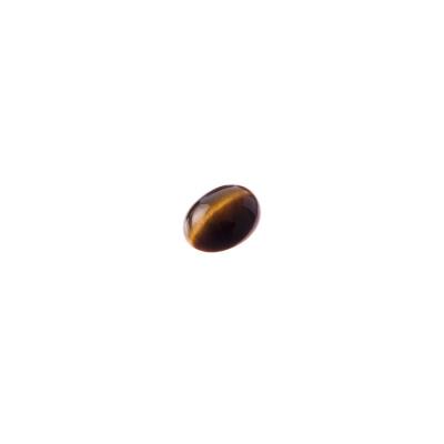 Cabochon in Occhio Di Tigre - Ovale 0.8x0.6x0.3 cm