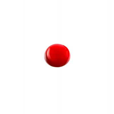 Cabochon in Corniola grado AB - Tondo diametro 1 cm