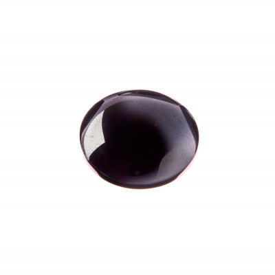 Cabochon in Ematite - Tondo diametro 1.8 cm