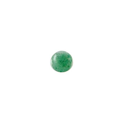Cabochon in Avventurina - Tondo diametro 0.8 cm
