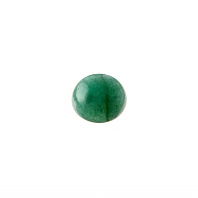 Cabochon in Avventurina - Tondo diametro 1.2 cm