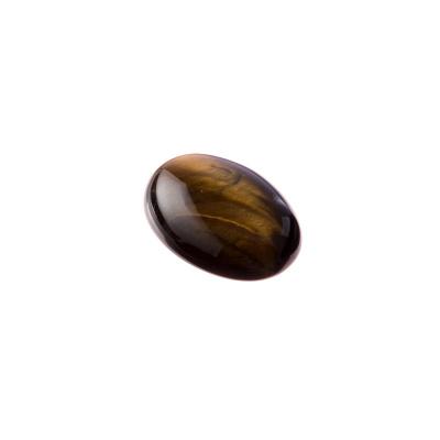 Cabochon in Occhio Di Tigre - Ovale 1.8x1.3x0.6 cm