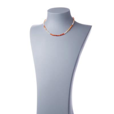 Collana a rondelle di Opale di Fuoco e Argento 925
