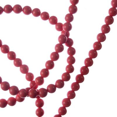 Corallo Bambù Rosa - sfera liscia da 4mm