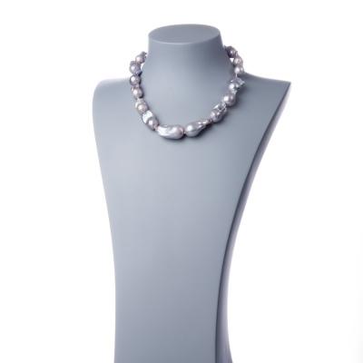Collana con Perle Barocche e Argento 925