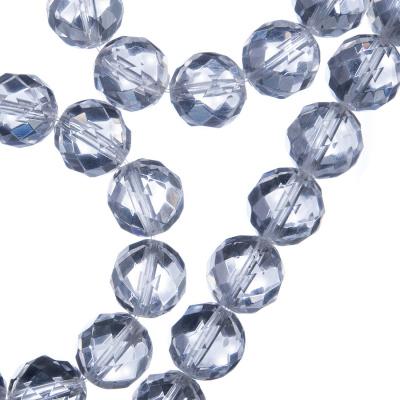 Cristallo di Rocca - Filo di sfere sfaccettate da 10mm