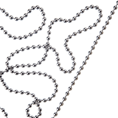Catena in alluminio trama Steel Ball Chain - 1 metro