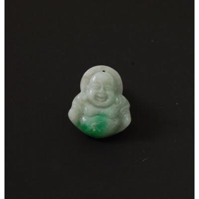 Ciondolo in Giada Imperiale, raffigurante il Buddha