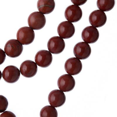 Diaspro Rosso Qualità Extra - Filo di sfere lisce da 8mm
