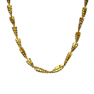Collana di Ambra Messicana e Argento 925