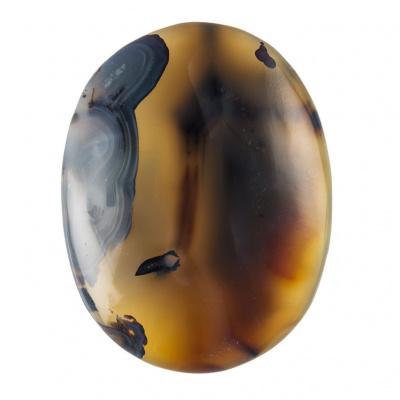 Agata Naturale - saponetta grande - Pietra per Massaggi