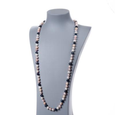 Collana di Perle Multicolor d'Acqua dolce tonde