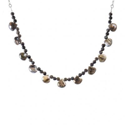 Collana di Labradorite e Argento 925