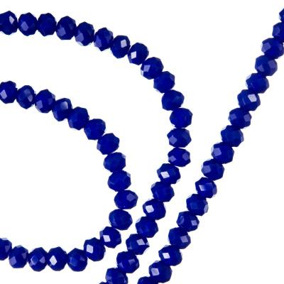 Filo di Cristalli a Rondelle Color Blu