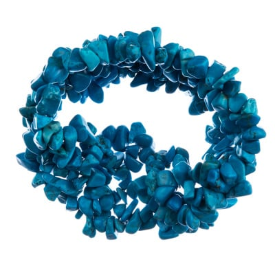 Bracciale elastico in Magnesite colorata