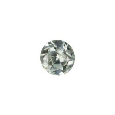 Gemma di Zircone Azzurro - Taglio a Brillante - Tondo 0.65x0.65x0.4