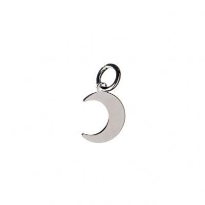 Charm Luna in Argento 925 - 1.5 x 1 cm - 1 pz.