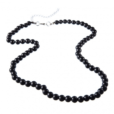 Collana in Shungite sfere 6mm