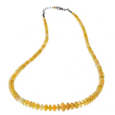 Collana di Opale qualità Extra e Argento 925