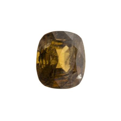 Gemma di Zircone Giallo - 8.53 carati 1.02x1.12x0.72