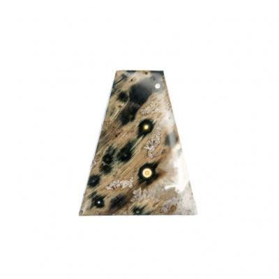 Cabochon di Diaspro Orbicolare - Irregolare 3.4x2.6x0.6