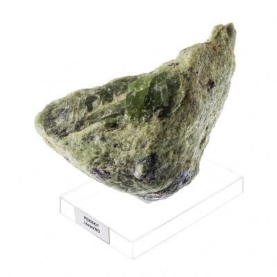 Olivina (Peridoto) - 600 gr. - 11 x 9 x 6 cm