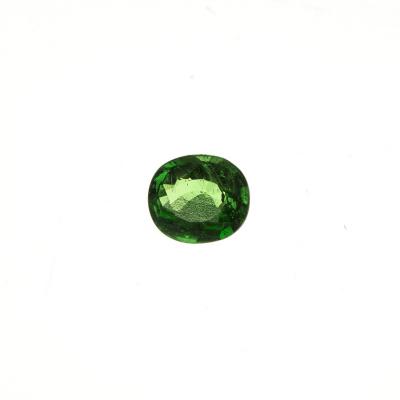 Gemma di Tsavorite - 0.98 carati - Ovale 0.55x0.68x0.32