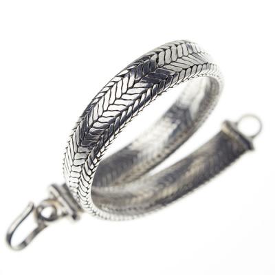 Bracciale Snake in Argento 925 - Unisex