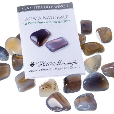 Agata Naturale - La Pietra dell'anno 2021 (1 pz.)