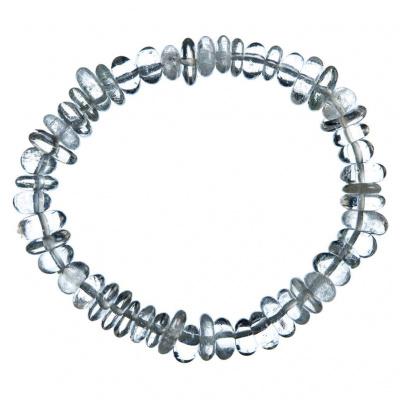 Bracciale elastico in Cristallo di Rocca