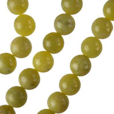 Olivina -  sfera liscia da 10mm