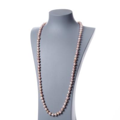 Collana di Perle Rosa d'Acqua dolce tonde
