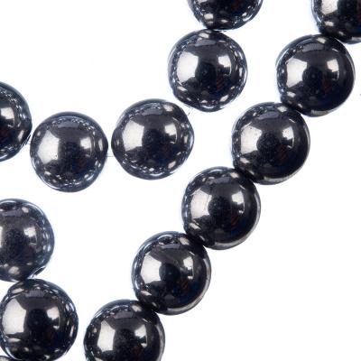 Ematite - Filo di sfere lisce da 12mm di qualità AA