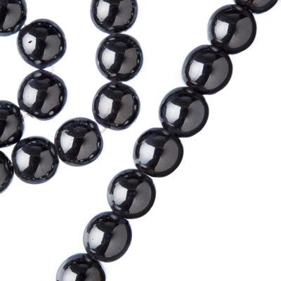 Ematite - Filo di sfere lisce da 10mm
