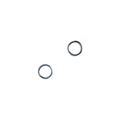 Anellino/Link in Acciaio da 5 mm color argento - 2.7 gr. (circa 50 pz.)