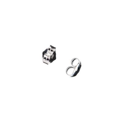 Elemento per orecchini in Argento 925 - 0.4 x 0.5 cm - 10 pz.