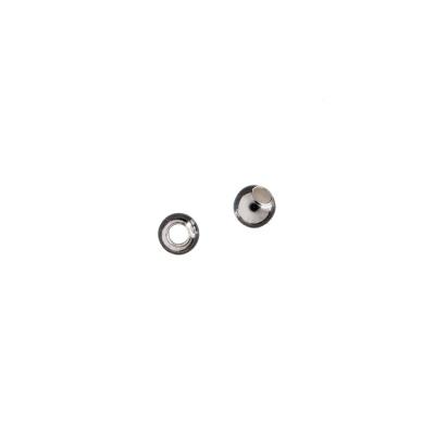 Distanziatore sfera liscia in Argento 925 - diametro 0.4 cm - 10 pz.