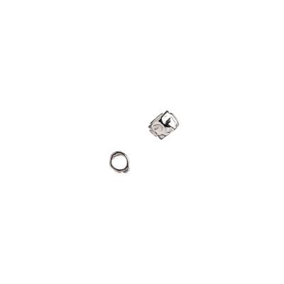 Distanziatore Pepita in Argento 925 - 0.35 x 0.35 cm - 5 pz.