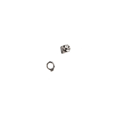 Distanziatore Pepita in Argento 925 - 0.25 x 0.3 cm - 10 pz.