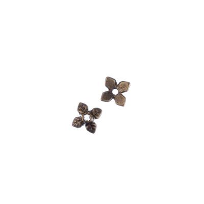 Coppetta a foglia color Bronzo diametro 0.6 cm - 50 pz.