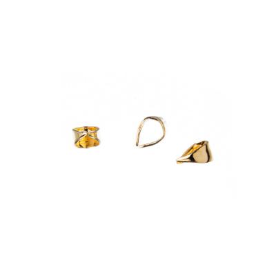 Gancio per Pendenti color Oro 0.6x0.3 cm - 5.3 gr - (circa 50 pezzi)