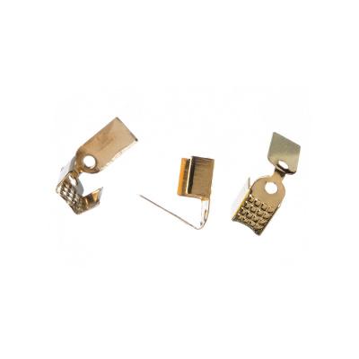 Terminale per cordoncino color Oro 1.7x0.5 cm - 26 pz.