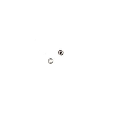 Distanziatore sfera liscia in Argento 925 - diametro 0.2 cm - 0.5 gr. (circa 20 pz.)