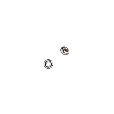 Distanziatore Donuts in Argento 925 - diametro 0.35 cm - 10 pz.