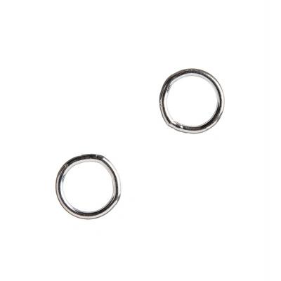 Anello chiuso in Argento 925 - diametro 0.8 cm - 6 pz.