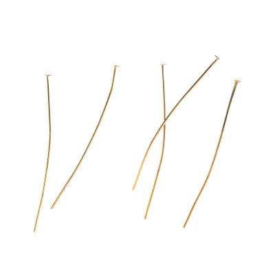 Chiodini senza occhiello da 50mm color Oro - 12 gr. - circa 69 pz.