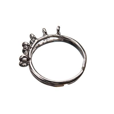 Base per anello in Argento 925 - diametro base 0.3 cm - 1 pz.