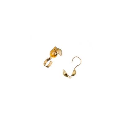 Finale Coprinodo color Oro 0.9x0.4 cm - 8.4 gr - (circa 100 pz)