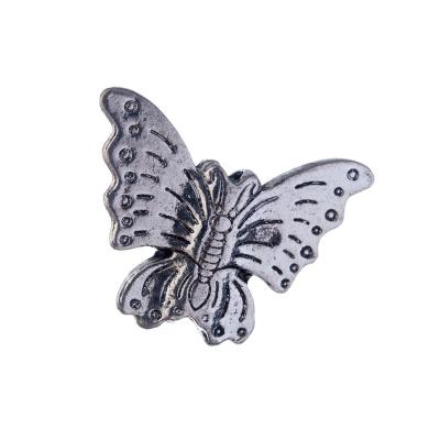 Distanziatore a Farfalla color Argento 3x2.9 cm- 1 pz.